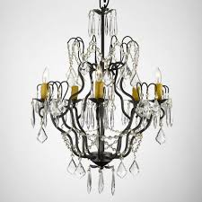 harrison lane versailles 5 light crystal chandelier feature plug in kit included
