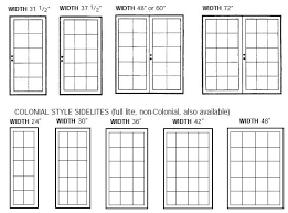 Pretty Standard French Door Size On This Standard Size Chart