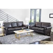 leather living room furniture sets. Abbyson London Top Grain Leather 2 Piece Living Room Set Furniture Sets