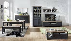 Wohnzimmer Möbel Esszimmer Komplett Set Wohnwand Grau