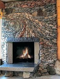 stone veneer over brick installing on fireplace foundation