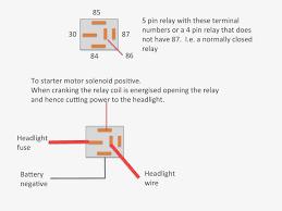 standard relay diagram dolgular com relay wiring diagram 8 pin at 4 Wire Relay Diagram