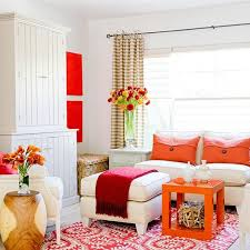 pin it pink and orange living room bhg bhg living rooms yellow