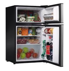 whirlpool energy star 3 1 cu ft compact 2 door refrigerator canada