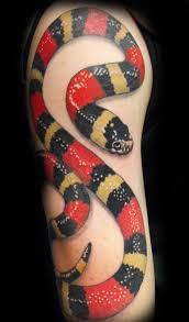 фото и значение тату змея