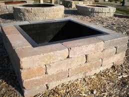 concrete patio with square fire pit. OriginalViews: Concrete Patio With Square Fire Pit S