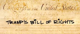 donald trump has a unique view of the bill of rights here rsquo s donald trump has a unique view of the bill of rights here rsquo s how it might look under his presidency hillary for america