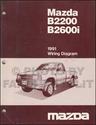 mazda b2200 service manuals shop owner maintenance and repair 1991 mazda b2600i b2200 pickup truck wiring diagram manual original