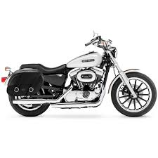 harley sportster 1200 low xl1200l motorcycle saddlebags shock cutout