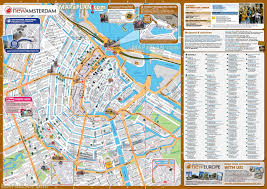 amsterdam maps top tourist attractions free printable city with