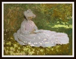 Fine Art Cross Stitch Designs Amazon Com Claude Monet Fine Art Counted Cross Stitch