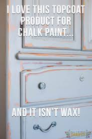 protective topcoat for chalk paint
