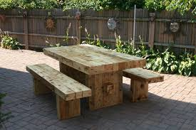 Outdoor Wooden Table And Benches 99 Furniture Photo On Outdoor Outdoor Wood Furniture Sale