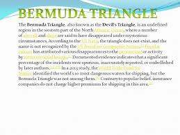 bermuda triangle ppt video online  bermuda triangle