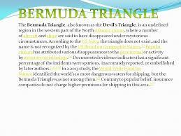 bermuda triangle ppt video online  bermuda triangle