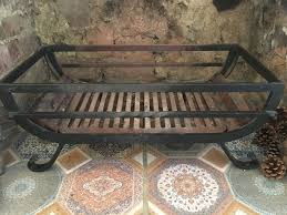 cast iron fire basket grate for open fireplace large