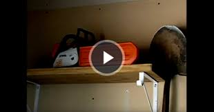 Chainsaw Storage Tips Video Storing a Chainsaw