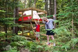 Treehouse Tent | 15 Awesome Treehouse Ideas For You And the Kids!