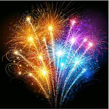 New Years Fireworks Clipart Free