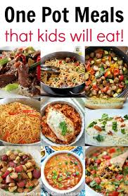 dinner recipes for kids. Simple Recipes Kid Friendly One Pot Meals Intended Dinner Recipes For Kids