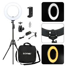 Studio Ring Light Uk Details About Studio Led 58w 14 Inch Photo Video Ring Light Camera Iphone Holder 2m Stand