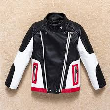 jackets for boys 2017 fall fashion brand leather jacket children winter girls outerwear coats infant kids