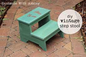 diy vintage step stool plans by ana white handmade