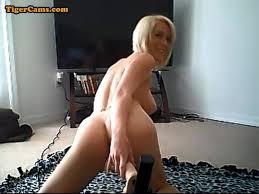 Big fuck machine blonde