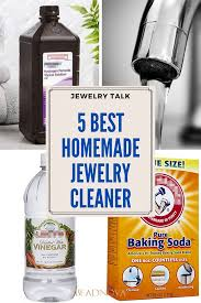 use hydrogen peroxide to clean jewelry