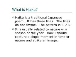 What Is The Pattern Of A Haiku Adorable Haiku