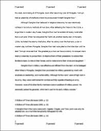 genghis khan essay holly s professional portfolio holly webb s  research paper genghis khan and the mongol military this is the end of the preview sign
