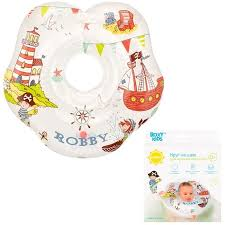 ROXY-KIDS <b>Надувной круг</b> на <b>шею</b> для купания малышей Robby ...