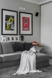 Small Bachelor Bedroom Small Bachelor Pad Idea Designed In A Modern Retro Style