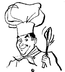 woman cooking clipart black and white.  White Black Woman Cooking Clipart To And White