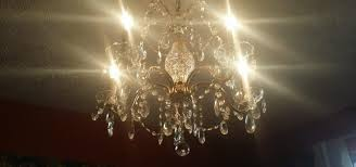 crystal chandelier dusty easy cleaning tip