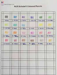 5 Wicked Markers Empty Colors Chart Blank Color Chart Www