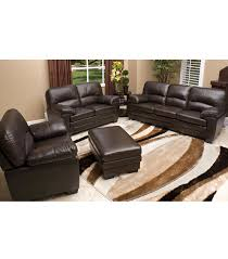 Living Room Leather Sets Living Room Sets Montecito 4 Piece Leather Set