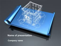 Architectural Powerpoint Template Architect Project Powerpoint Template Backgrounds 10176
