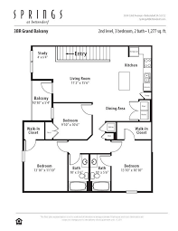 3 Bedroom, 2 Bath 1367 Sf Apartment At Springs At Bettendorf In Bettendorf,  IA