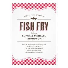 Personalized Fish Fry Invitations Custominvitations4u Com