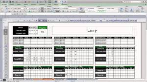 workout excel templates strength conditioning excel template level 1 youtube