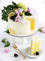 Celebrate Like A Royal Lemon Elderflower Cake Recipe Hgtv