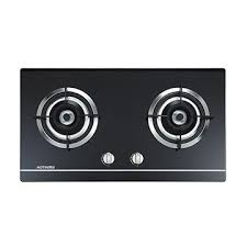 china 2 burner gas stove gas hob gas cooker black tempered glass cooktop built in