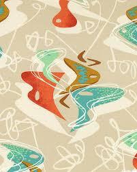 Retro Vibe - Abstract Dance - Natural - BARK CLOTH-Quilt Fabrics ... & Retro Vibe - Abstract Dance - Natural - BARK CLOTH-Quilt Fabrics from www. Adamdwight.com
