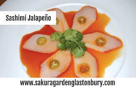 sakura garden glastonbury says as yummy as it sounds sashimi jeno jenos salmon tuna avocado and wasabi
