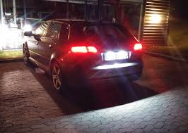 Audi A3 Led License Plate Lights A3 License Plate Interior Led Lights Audi Sport Net