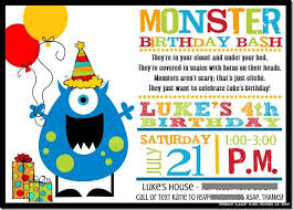 Lil Monster Birthday Invitations Monster Birthday Party From Smile Like You Mean It Monster