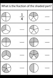 Fraction Chart Sheet Fraction Circles Free Printable Worksheets Worksheetfun