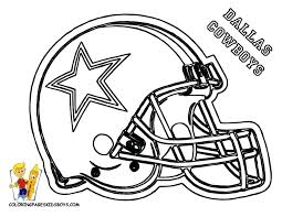 Dallas Cowboys Coloring Pictures Image For Football Helmet Coloring