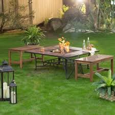 fire pit table with chairs. Backless Fire Pit Benches With Wheatland Table Set Chairs